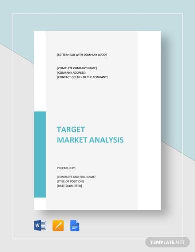clean target market analysis