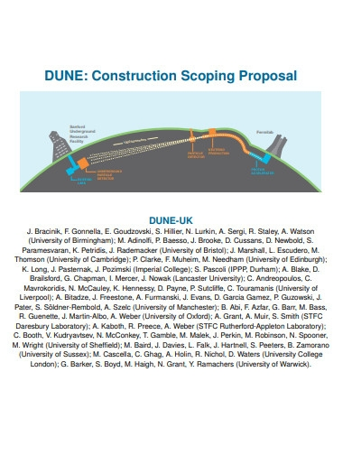 construction scoping proposal example