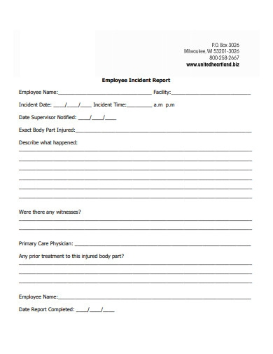 Employee Incident Report Template from images.examples.com
