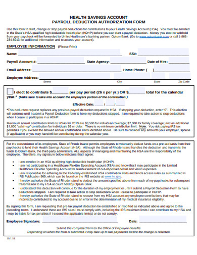 employee payroll authorization form example