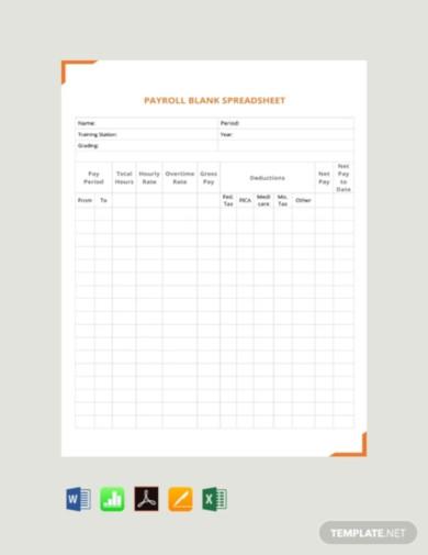 free payroll spreadsheet template