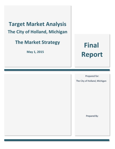 housing target marketing analysis