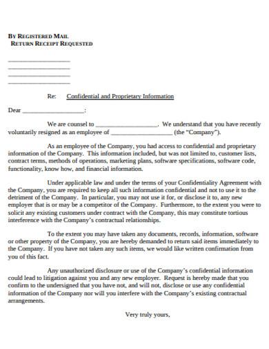 printable employee letter