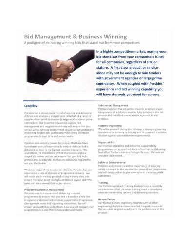 simple bid management
