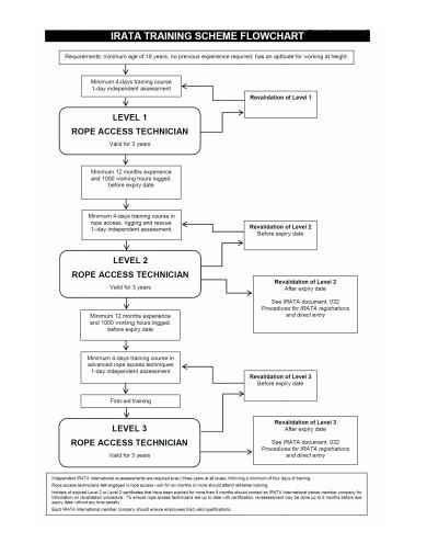 training scheme flow chart