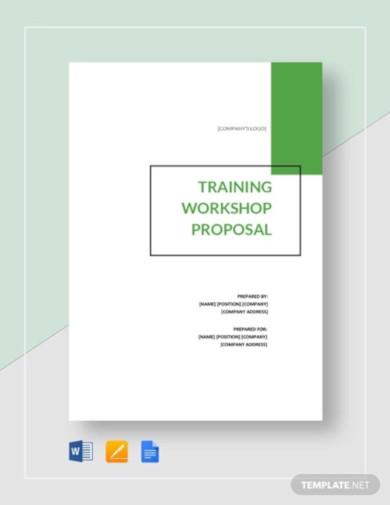 training workshop proposal template1