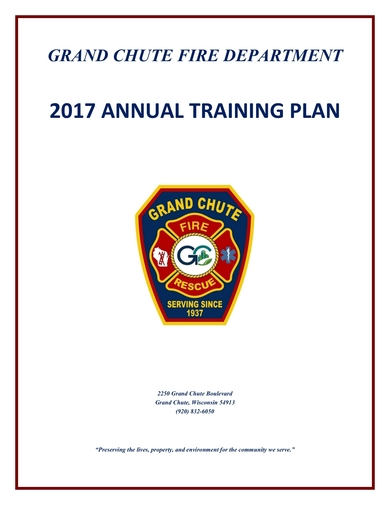 annual training plan