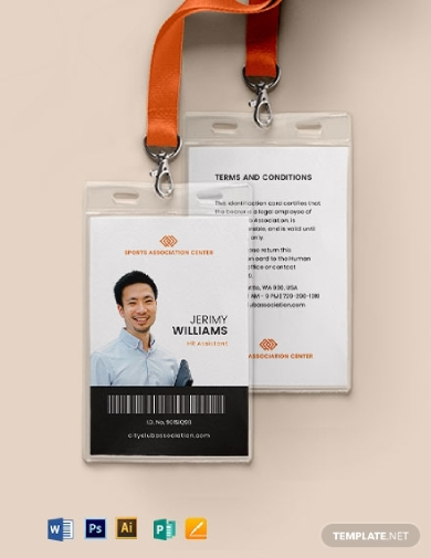 association membership id card
