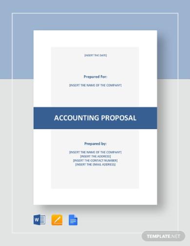 basic accounting proposal