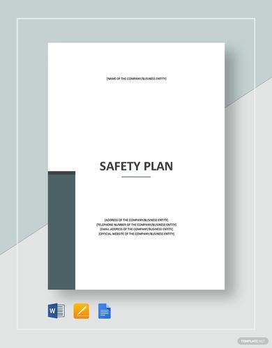 basic safety plan
