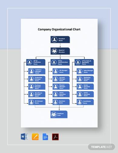 company organizational chart1