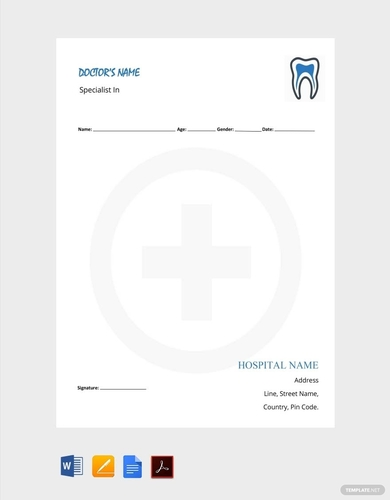 dentists notes