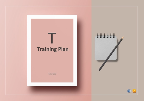 detailed training plan