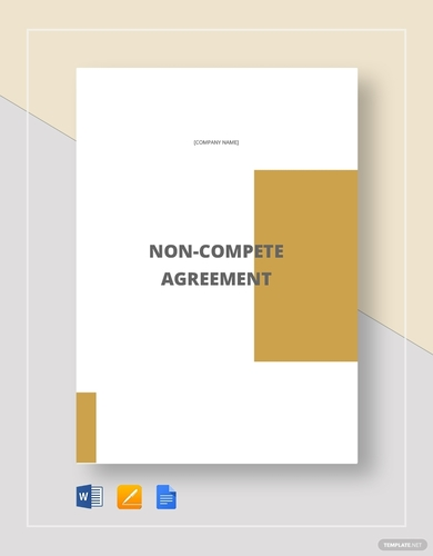 general non compete agreement