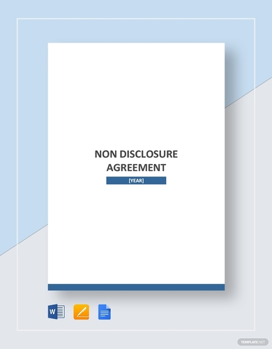 general non disclosure agreement