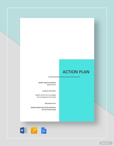 generic action plans
