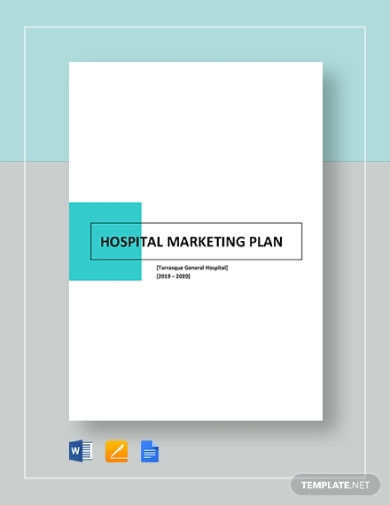 hospital marketing plan