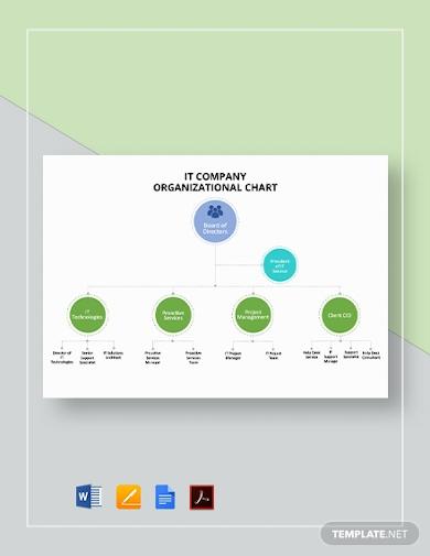 it company organizational chart