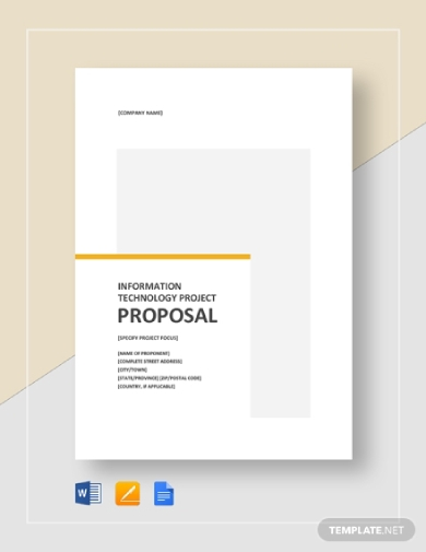 it project proposal outline