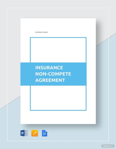 insurance non compete agreement