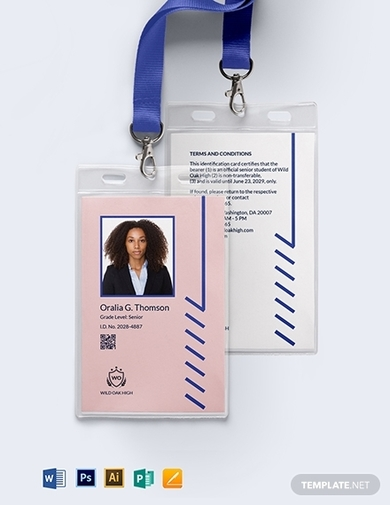 10+ School ID Cards Examples & Templates [Download Now