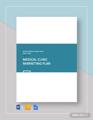 medical clinic marketing plan