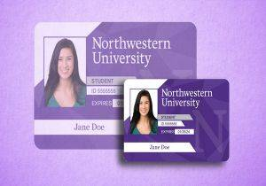 northwestern university id card 300x210