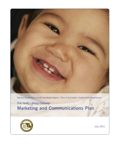 oral health marketing and communication plan
