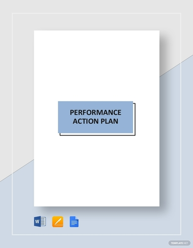 performance action plans