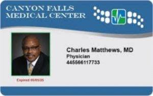 physician identification card 300x189