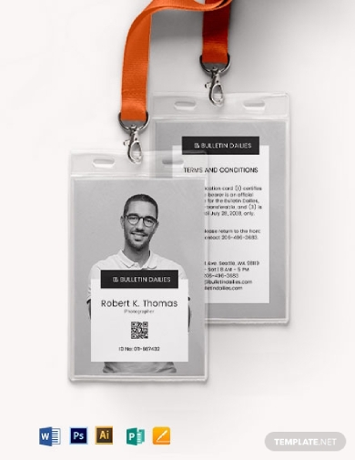 portrait id card