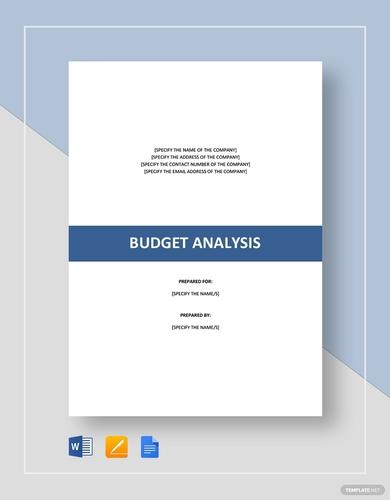 rental budget analysis