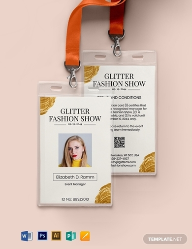 sample event id card