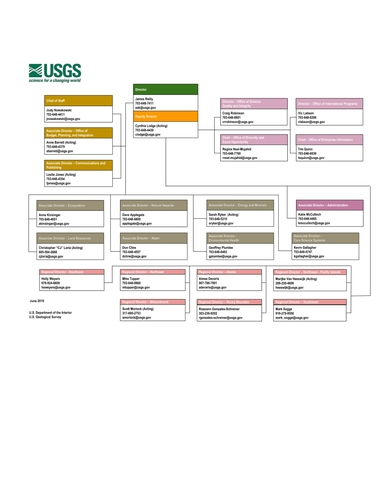 sample organizational chart