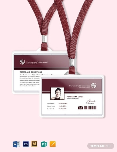 school photographer id card