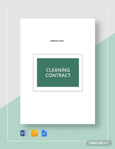 simple commercial cleaning contract