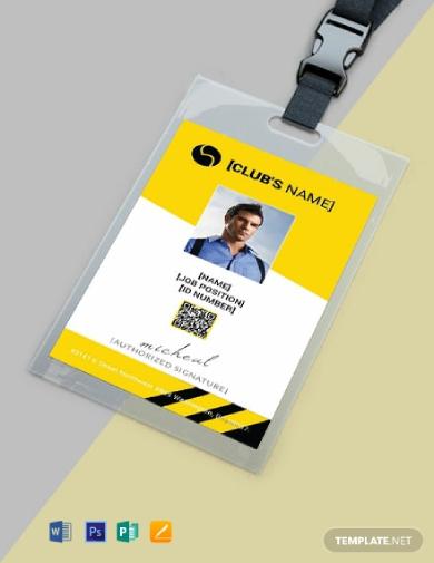 sports identity card