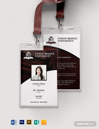 student id card format