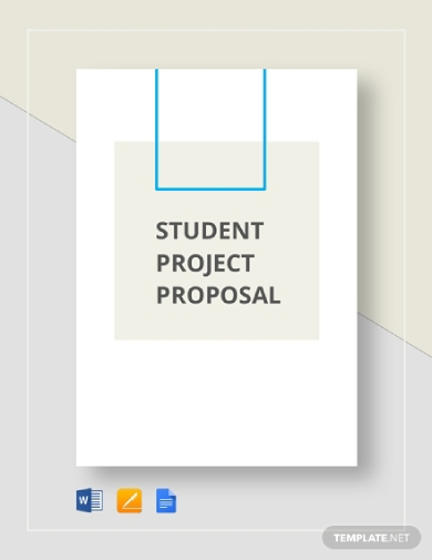 student project proposal outline