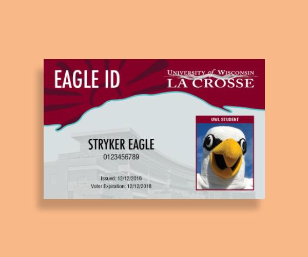 university la crosse id card