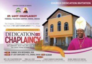 catholic church invitation card 300x210