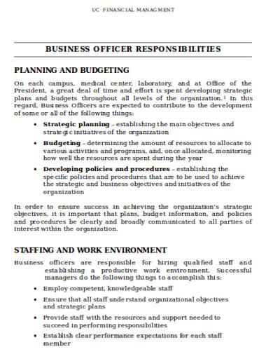 business finaqncial management example
