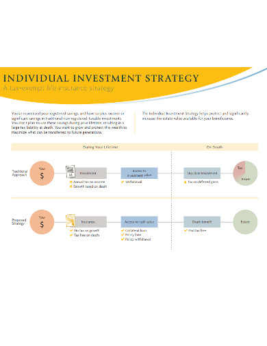 individual investment strategy example