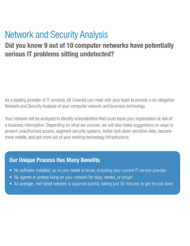 network and security analysis