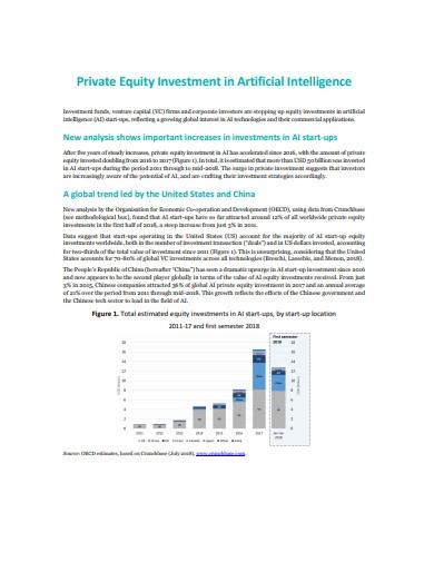 private equality investment in ai