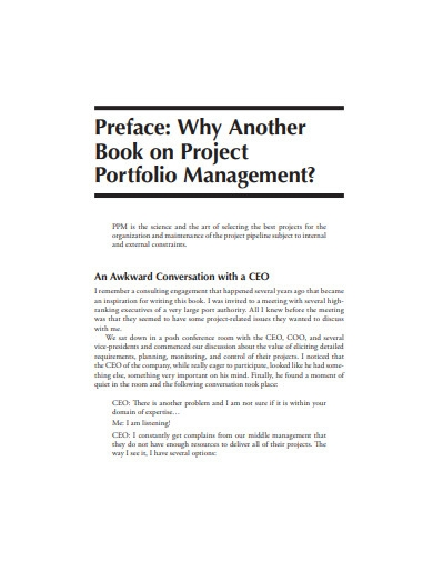 project portfolio management theory