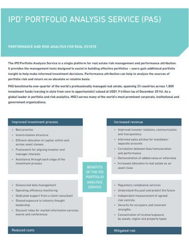 service portfolio analysis example