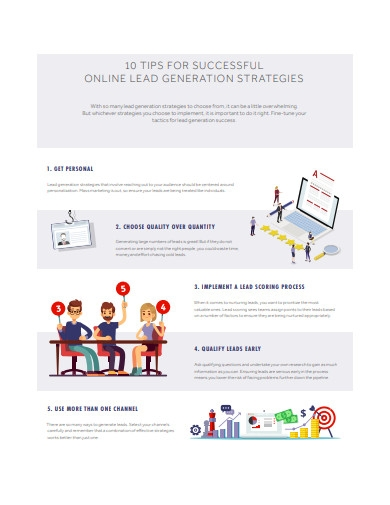 10 tips for online lead generation strategies