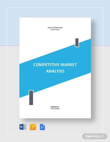 competitive market analysis template