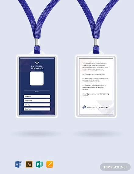 free vertical blank id card templates